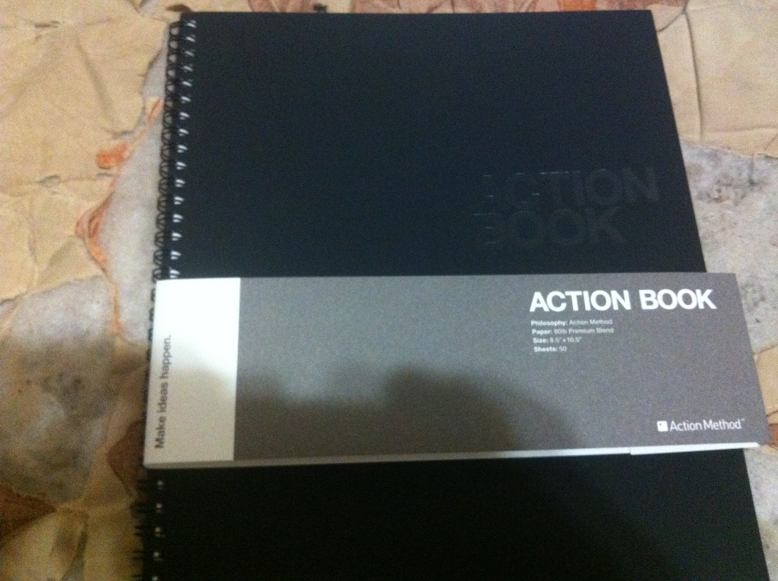 how to use behance action book